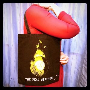 Handbags - The Dead Weather hand crafted tote bag